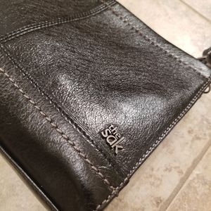 The Sak Bags - NWT THE SAK LEATHER BLACK CROSSBODY STRAP PURSE